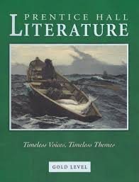 prentice hall literature book