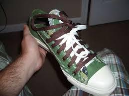 converse double laces
