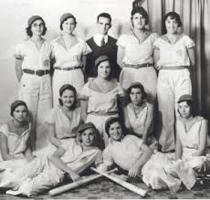 girl softball team
