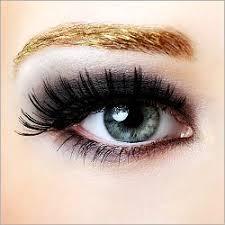 glamorous eye make up