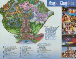 disney world park maps