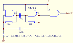 crystal oscillators circuits