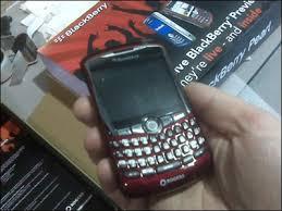 blackberry 8300 red