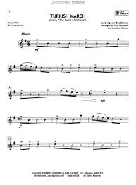 popular flute sheet music
