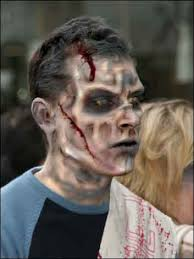 make up zombie