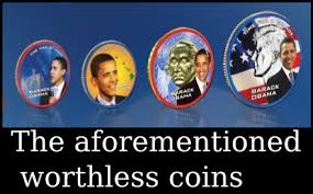 obama presidential coin