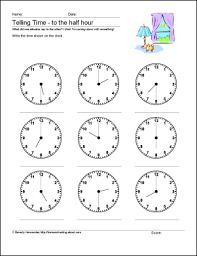 What Time is It? - Worksheet 1