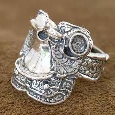 mens saddle rings