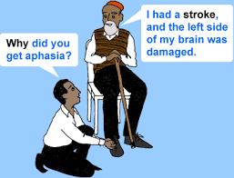 aphasia brain