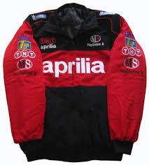 aprilia leather jacket