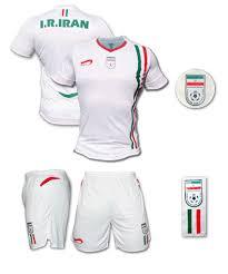 iran football shirt
