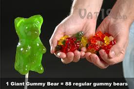 giant gummi bears