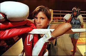 boxing child