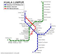 lrt malaysia map