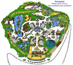 disneyland ride map
