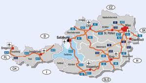 austria road map
