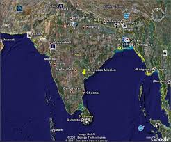 google earth map of india