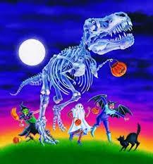 dinosaurs halloween