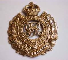 royal engineer badge