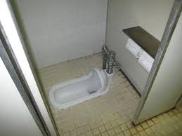 old fashioned toilets