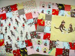 funky monkey quilt