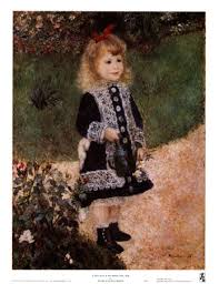 renoir girl with a watering can