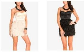 marciano feather dress