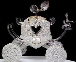 cinderella carriage cake topper