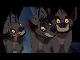 lion king hyena