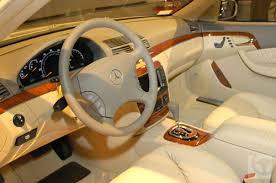 mercedes s interior