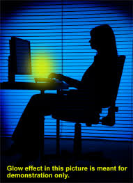 monitor light