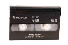 hi 8mm tape