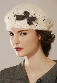 crocheted berets