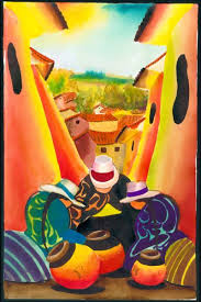 peruvian paintings