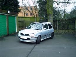 nissan micra modifications