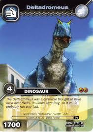 dinosaur king deltadromeus