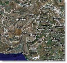 google maps of pakistan