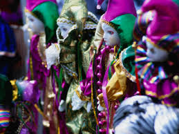 mardi gras dolls