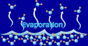 liquid evaporation