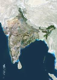 satellite photos of india