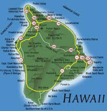 big island road map