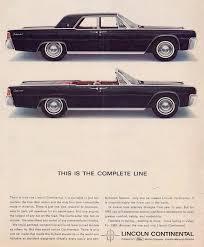 1963 lincoln