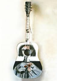 guitars paintings