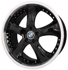 bmw black wheels