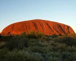 the rock in australia