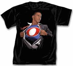obama superman tshirt