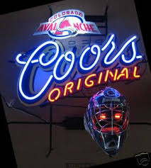 coors neon sign