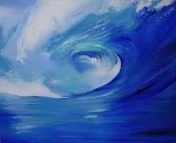 ocean wave art