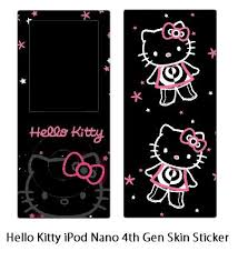 hello kitty ipod skins