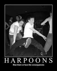 harpoons